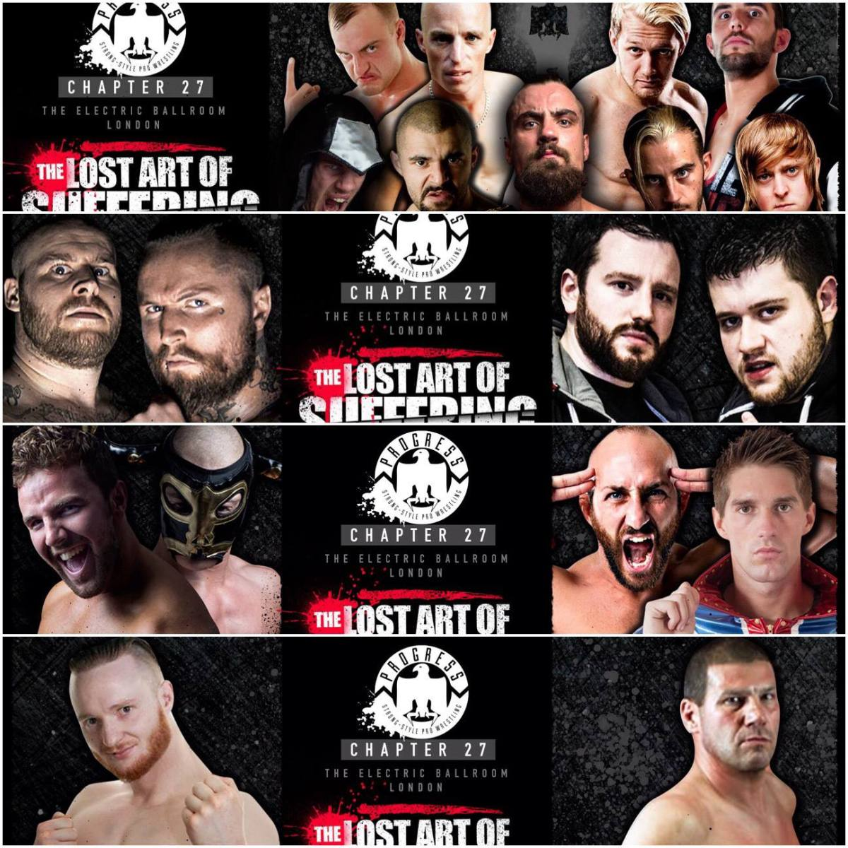 PROGRESS Wrestling PREVIEW - Chapter 27: The Lost Art Of Suffering