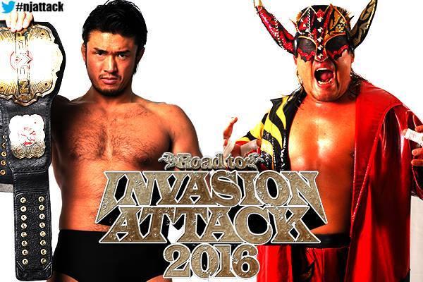 Katsuyori Shibata vs. Hiroyoshi Tenzan - NJPW Invasion