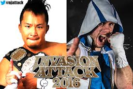 KUSHIDA vs. Will Ospreay (Chaos) - NJPW Invasion