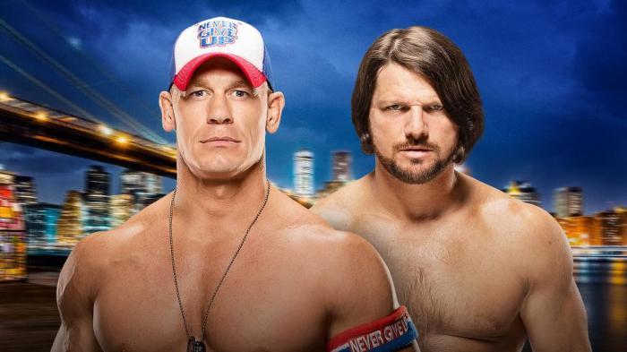 John Cena vs AJ Styles