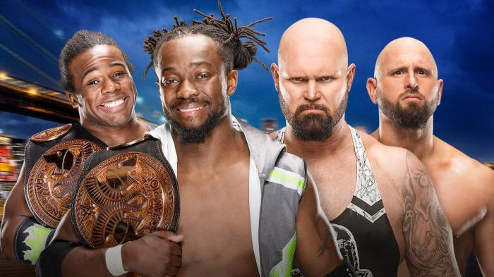 New Day vs Balls