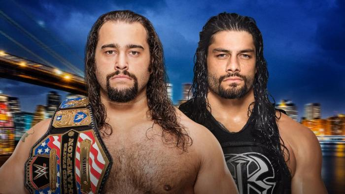 Rusev vs Roman Reigns